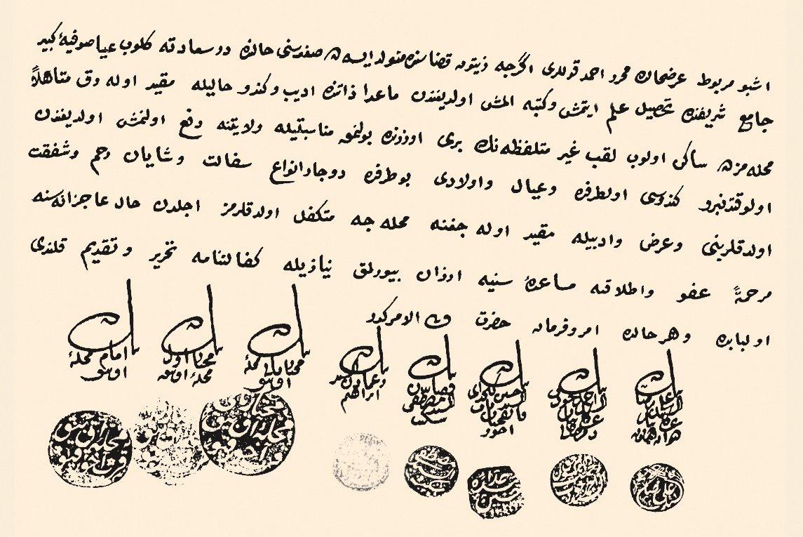 Osmanlı tarihinin ilk muhtarları 1829'da İstanbul'da, Galata, Eyüp ve Üsküdar Kadılıklarına bağlı olarak kurulmuş ile ilgili görsel sonucu