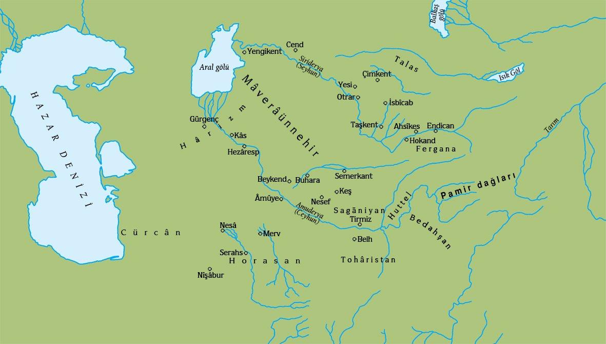 MÂVERÂÜNNEHİR - TDV İslâm Ansiklopedisi