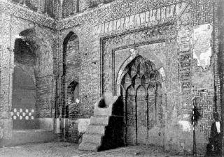 Bersiyân Cuma Camii'nin mihrabı