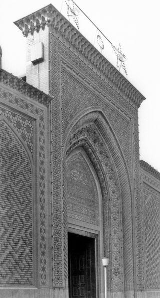Abdülkādir-i Geylânî Külliyesi'nin doğu taçkapısı