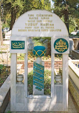 Nâbî'nin Karacaahmet Mezarlığı'ndaki kabri – Üsküdar / İstanbul