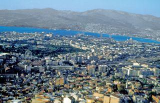 İzmir'den bir görünüş