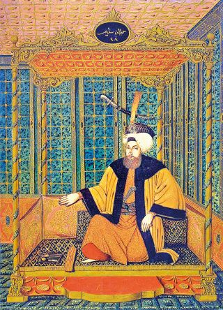 Sultan III. Selim (İnan ve Suna Kıraç Koleksiyonu, Albüm, lv. 28)